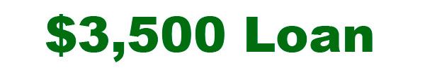 3500 loan