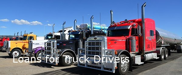 Loans for Truck Drivers